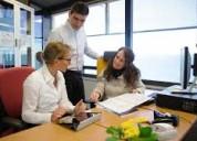 Urge personal para trabajar como recepcionista