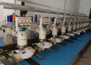 Embtec máquina bordadora  barudan 12 cabezales.
