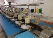 Embtec venta de máquinas bordadoras, computarizada