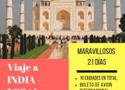 21 dÍas en india y nepal