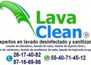 lavado desinfectado de salas colchones alfombras