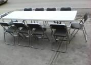 Juego de tablÓn con sillas plegables