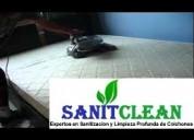 Lavado sanitizado y desinfeccion de colchones