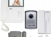 Videointerfon a color kit completo $5400