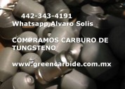 Compro carbide de tungsteno scrap