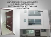 Venta de casa  momoxpan tres pisos roof grden