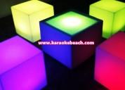 Renta de salas lounge iluminadas salas luminosas