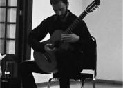 Clases de guitarra clasica y electrica con un metodo adecuado a cada alumno en ciudad de méxico
