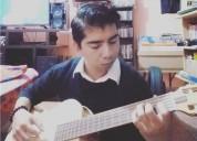 Clases particulares de guitarra clasica a ninos y jovenes de nivel basico y medio en guadalajara