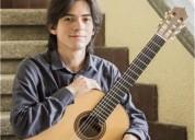 Ofezco clases de guitarra clasica para todas las edades en ciudad de méxico