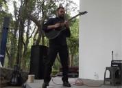 Clases de guitarra electrica y clasica en ciudad de méxico