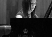 Clases de piano a domicilio imparte pianista titulada unam en ciudad de méxico