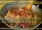 Servicio de carnitas en xochimilco