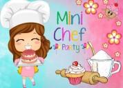 Fiesta mini chef a domicilio