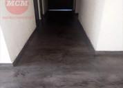 Microcemento piso sin uniones