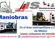 TODO MONTACARGAS (RENTA, VENTA, MANIOBRAS Y REPARACION)