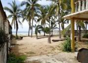 En venta terreno en acapulco frente a playa pie de la cuesta 1500 m2