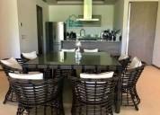 Isla residences spa garden house en renta 235 m2