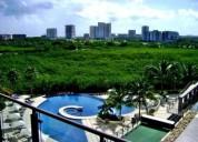 departamento en renta be towers puerto cancun cancun 2 dormitorios