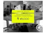 Casa amueblada en lomas del refugio 4 recamaras y terreno adicional 4 dormitorios 178 m2