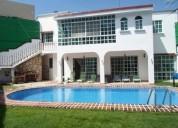 Se renta casa amueblada en cancun 6 recamaras con alberca propia 6 dormitorios 508 m2