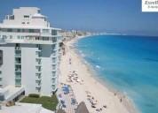 Departamento cancun zona hotelera al mar 1 dormitorios