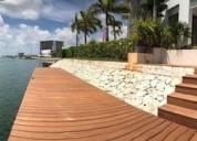 Puerto cancun casa 4 recamaras alberca muelle 475 m2