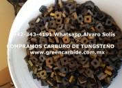 Compra de tungsteno usado en irapuato