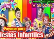 Sorpresas payasos show del.tlahuac