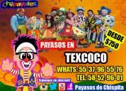 Concursos payasos show en texcoco
