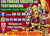 Premios payasos show en teotihuacan
