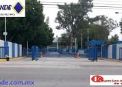 Barreras vehiculares control de acceso