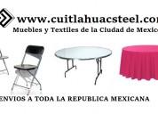Merida sillas de plastico reforzado yucatan