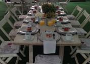 Banquetes, reta de equipo para eventos