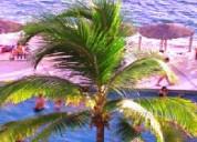 Departamento sobre la playa en acapulco