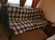 Sofa-cama con colchoneta gratis, Único dueÑo.