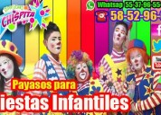payaso de tv shows dia del niño