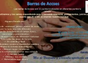 Barras de access en promoción