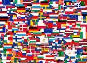 Clases de inglés, español... y muchos idiomas.