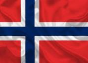 Enseñamos noruego, danés, sueco e islandés