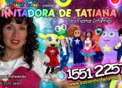 Show musical de tatiana para fiestas infantiles