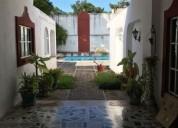 Excelente casa tipo colonial en renta itzimna 4 dormitorios 750 m2