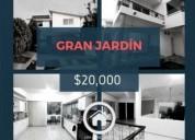 casa en esquina renta gran jardin 20 000 4 dormitorios 315 m2