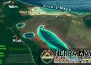 Yaax tzonot terrenos con cenote privado a 15 de tulum 200 m2