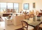 Cadp hermoso depto con terraza con vistas a los jardines y al mar 4 dormitorios 200 m2