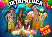 DinÁmicas payasos show en ixtapaluca