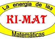Clases de matemáticas grupales o pesonales