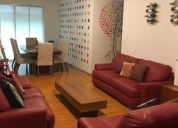 Departamento en renta col del valle 3 dormitorios 112 m2