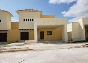 Casa en venta en privada santa cruz conkal 3 rec alberca y bar 3 dormitorios 400 m2