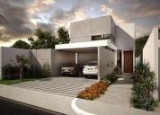 Casa en privada residencial en conkal entrega inmediata 3 dormitorios